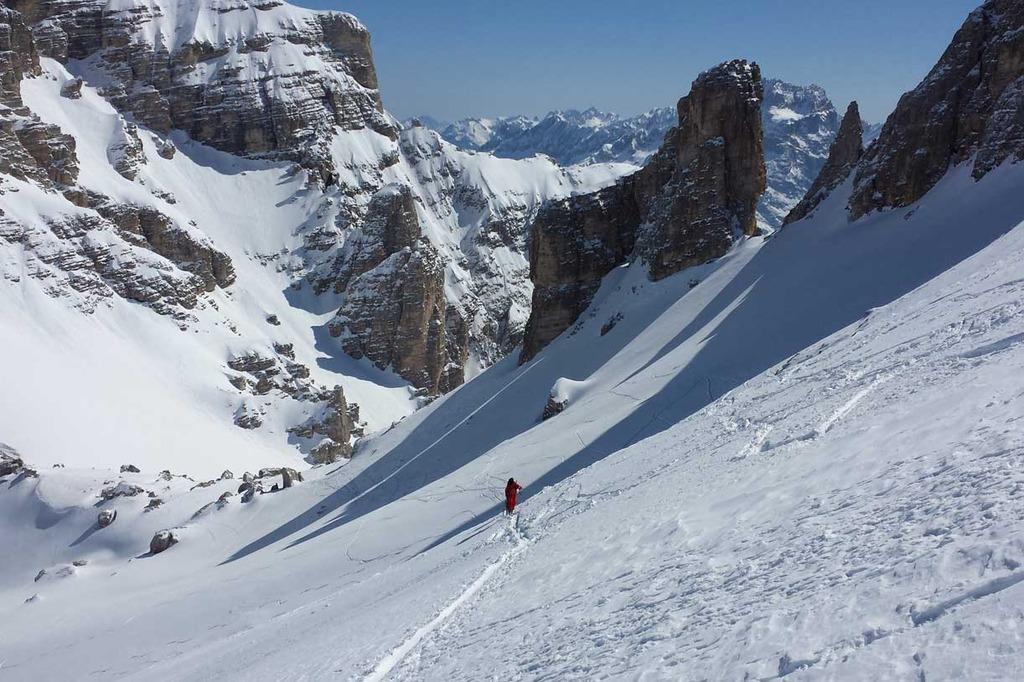Ski Mountaineering in Cortina with Mountain Guides Dolomiti SkiRock