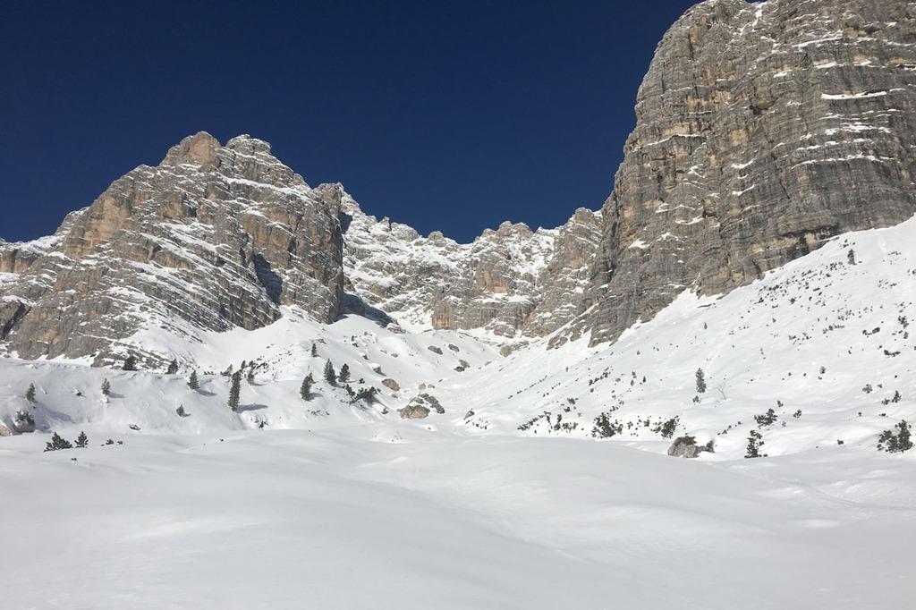 Backcountry Ski Touring in Cortina dAmpezzo Dolomiti SkiRock